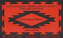 Library card